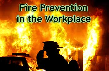 Safety and fire prevention – Fire safety in the workplace